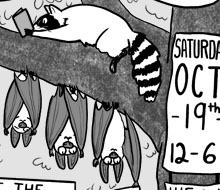 Bloomington Zine Fest Flyer